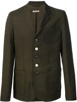 Marni tech-poly jacket - men - Cotton/Polyester - 44