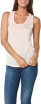 L'Agence Scoop Neck Quartz Top