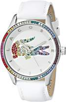 Lacoste Women's 2000822 Victoria Analog Display Japanese Quartz White Watch