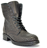 275 Central - 1515 - Studded Leather Lug Sole Ankle Boot