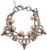 Modern Muse Crystal and Sphere Bracelet