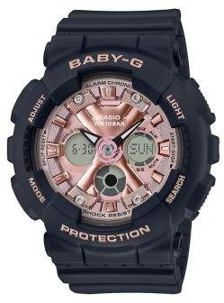 G-Shock G Shock Pink Face Analog and Digital Resin Watch