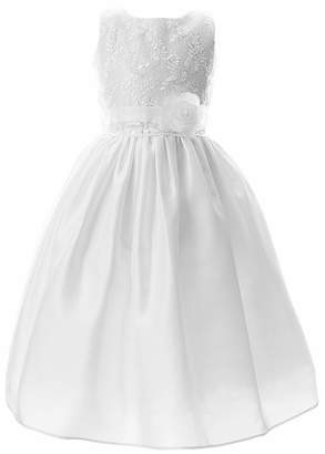 Keepsake Frist Communion Girls Sleeveless A-Line Dress - Preschool / Big Kid