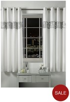 By Caprice Sensi Lined Eyelet Curtains