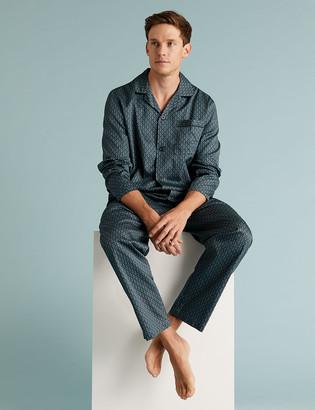 Marks and Spencer Pure Cotton Pyjama Set