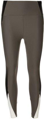 Lanston Sport side panelled leggings