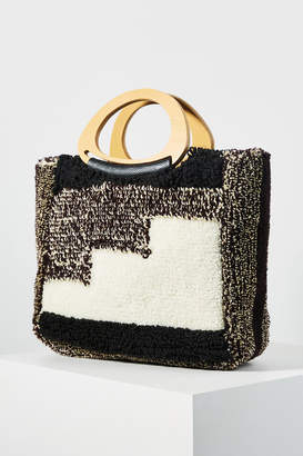 Anthropologie Zona Patchwork Tote Bag