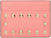 Valentino Pink Rockstud Card Holder