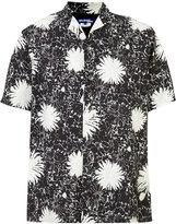 Junya Watanabe Comme Des Garçons - short-sleeve floral shirt - men - Cupro/Rayon - L