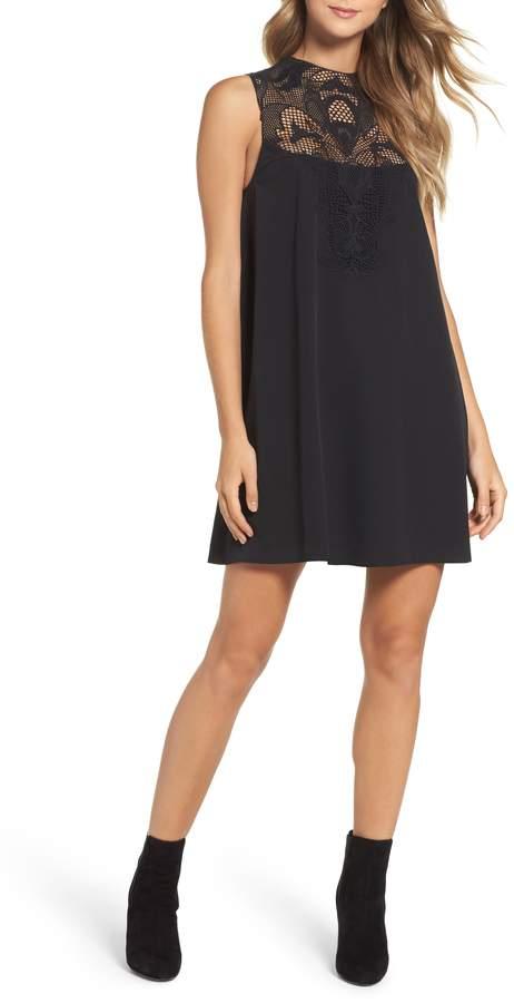 Chelsea28 Lace Yolk Shift Dress