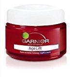 Garnier Age Lift Anti-wrinkle Firming Night Cream 50ml Made in Thailand by Chom