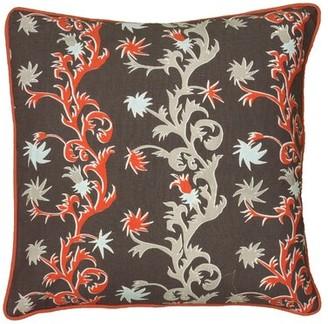 Wildon Home Cyntria Throw Pillow Color: Gray