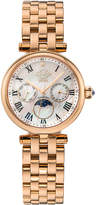 Gv2 Florence Moon Phase Diamond Swiss Watch, Rose Gold