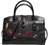 Coach Women's Mercer 30 Satchel Bag Black
