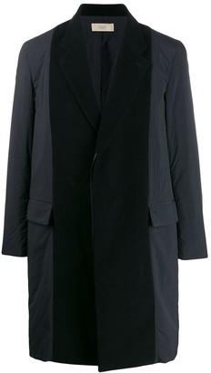 Maison Flaneur Contrast Colour Coat