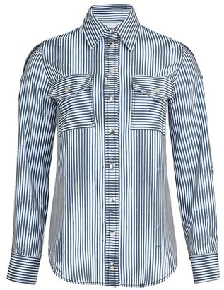 Thebe Magugu Striped blouse