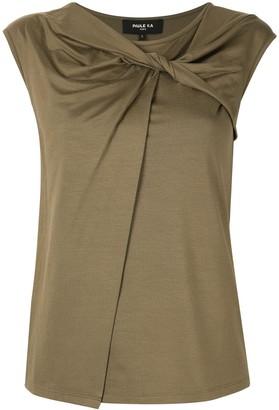 Paule Ka sleeveless fitted top