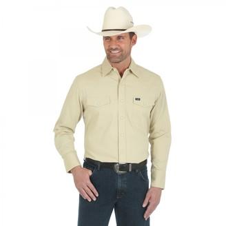 Wrangler Men's Big-Tall Work Shirts