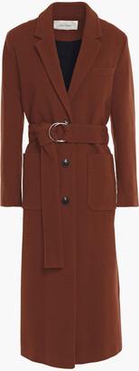 American Vintage Louping Belted Wool-blend Felt Coat