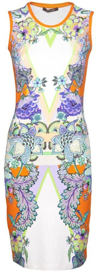 Roberto Cavalli 'Punto Stoffa Padma' dress