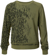 Haider Ackermann animal print sweatshirt - men - Cotton - S