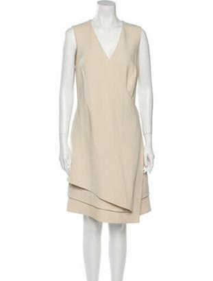 J. Mendel Wool Knee-Length Dress Wool