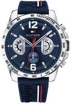 Tommy Hilfiger Tommy Hilfiger Navy Multi Dial Brown Leather Strap Mens Watch