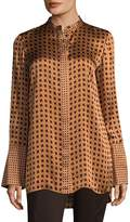Lafayette 148 New York Women's Desra Silk Blouse