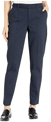 NYDJ Everyday Trouser Pants (Heathered Navy) Women's Casual Pants