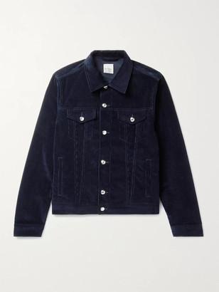 Paul Smith Cotton-Blend Corduroy Trucker Jacket