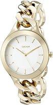 DKNY Women's NY2217 CHAMBERS Gold Watch