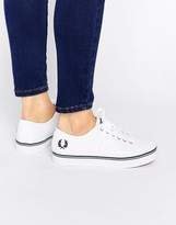 Fred Perry Phoenix Canvas Flatform Sneakers