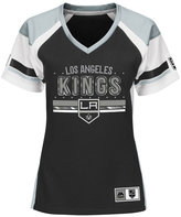 Majestic Women's Los Angeles Kings Ready to Win Shimmer Jersey