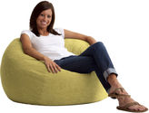 JCPenney Comfort Research 3' Medium Suede Fuf Beanbag Chair