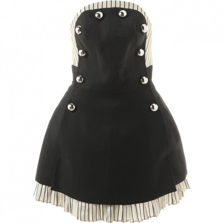 Monse Black Wool Dresses