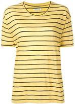 Etoile Isabel Marant striped T-shirt - women - Linen/Flax/Cotton - XS