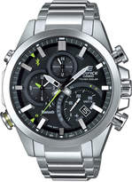 G-Shock Men's Edifice Solar Stainless Steel Bracelet Watch 48mm