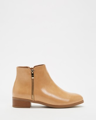 Spurr Women's Neutrals Heeled Boots - Palin Ankle Boots - Size 5 at The Iconic