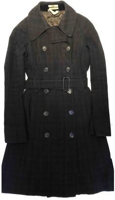 Edun Navy Cotton Coats