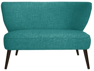 George Oliver Cifuentes Armless Loveseat Color: Zuma Atomic