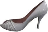 Salvatore Ferragamo White Patent leather Heels