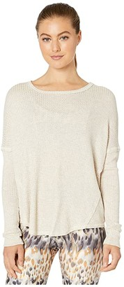 Onzie Raglan Pullover (Oatmeal) Women's Clothing