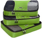 eBags Large Packing Cubes - 3pc Set (Grasshopper)