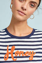 Anthropologie Honey Striped Tee