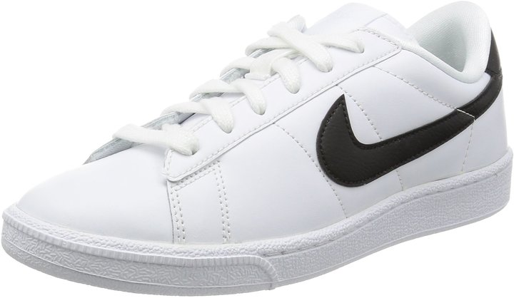 Nike Tennis Classic Womens Court Sneakers Shoes White Size 8