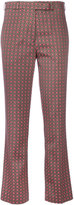 Etro embroidered tailored trousers