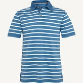 Fat Face Indigo Breton Stripe Polo