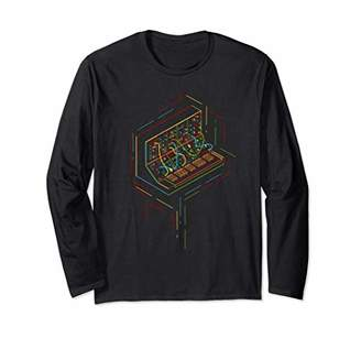 Modular Synthesizer Player Long Sleeve T-Shirt