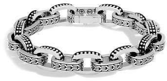 John Hardy Men's Sterling Silver Classic Chain Jawan Link Bracelet