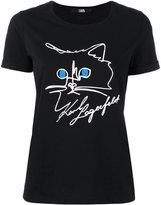 Karl Lagerfeld D1 T-shirt - women - Cotton - S